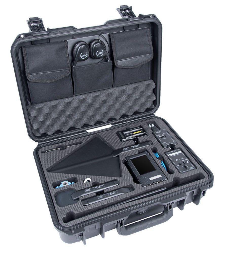 Equipo de rastreo de micrófonos de multiples aplicaciones
